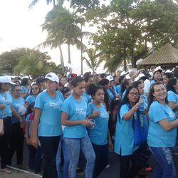 João Pessoa reúne centenas de mulheres em caminhada
