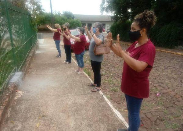 Mulheres em ação